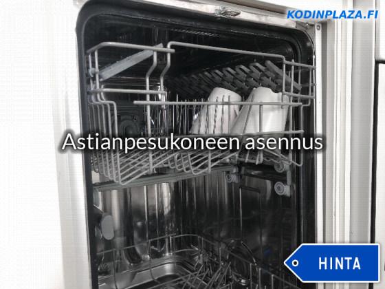 astianpesukoneen kuljetus