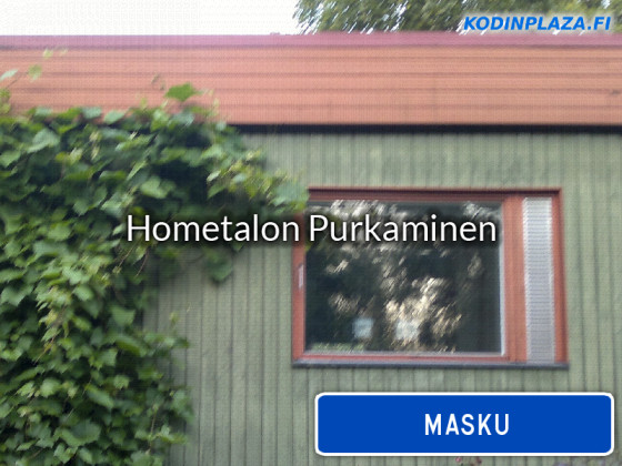 Hometalon purkaminen Masku