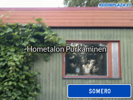Hometalon purkaminen Somero