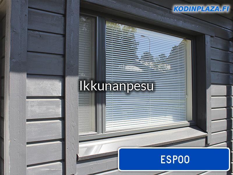 Ikkunanpesu Espoo