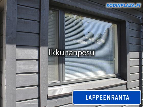Ikkunanpesu Lappeenranta