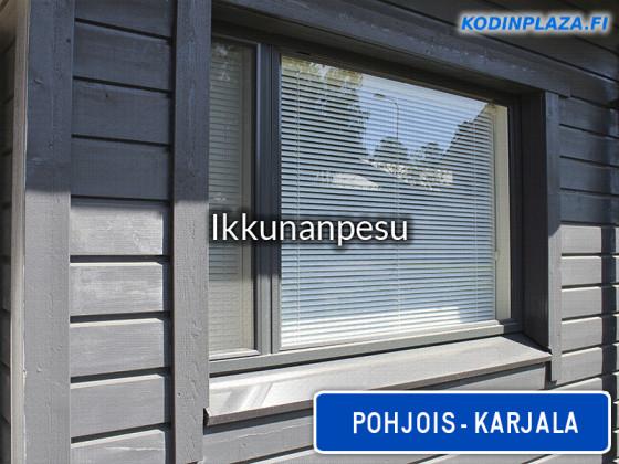 Ikkunanpesu Pohjois-Karjala
