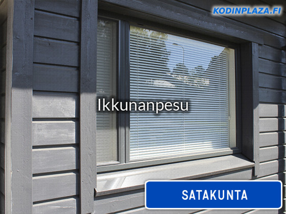 Ikkunanpesu Satakunta