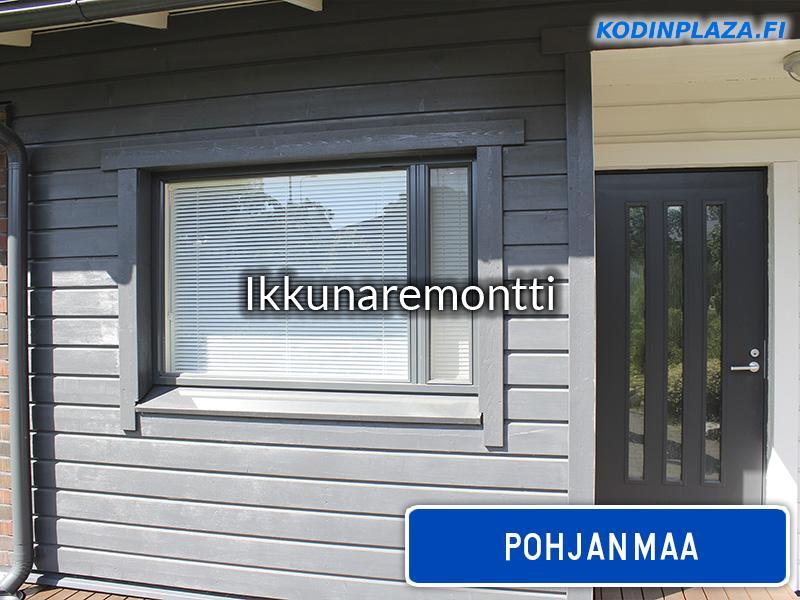 Ikkunaremontti Pohjanmaa
