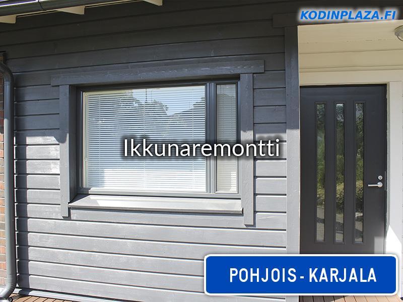 Ikkunaremontti Pohjois-Karjala