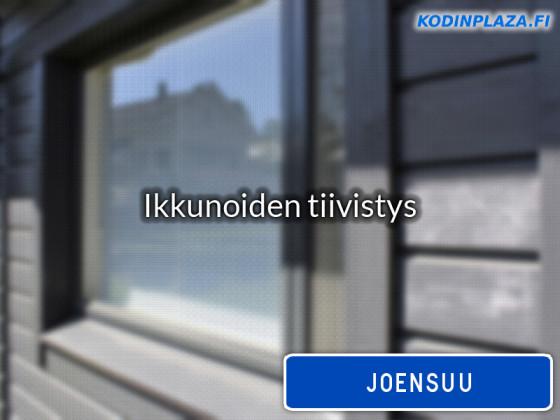 Ikkunoiden tiivistys Joensuu