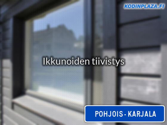 Ikkunoiden tiivistys Pohjois-Karjala