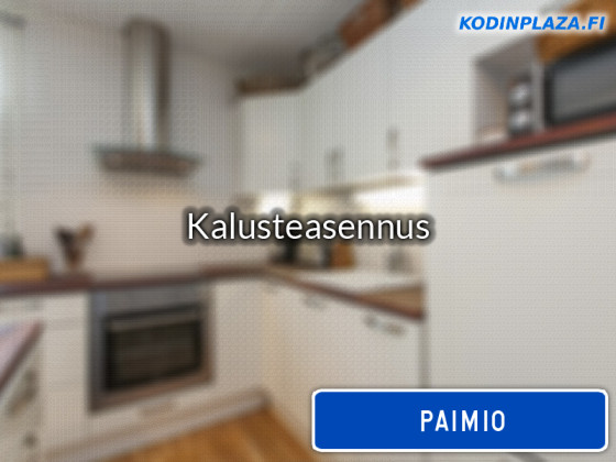Kalusteasennus Paimio