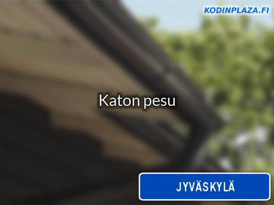 Katon pesu Jyväskylä