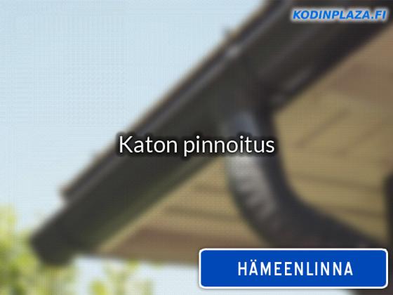 Katon pinnoitus Hämeenlinna
