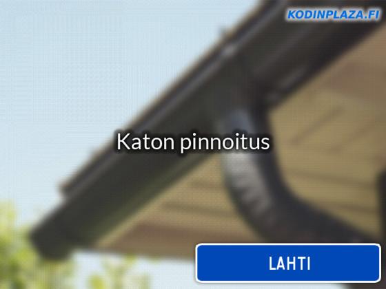 Katon pinnoitus Lahti