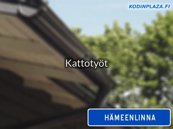 Kattotyöt Hämeenlinna