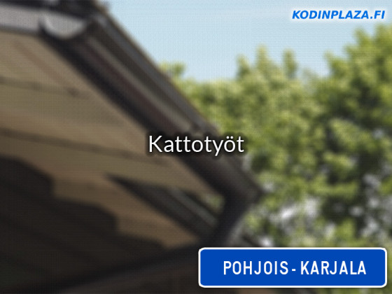 Kattotyöt Pohjois-Karjala