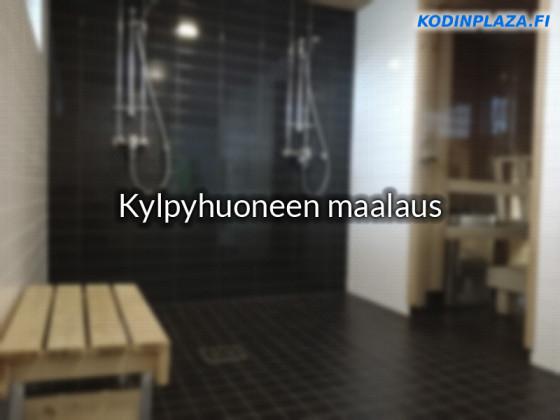 Kylpyhuoneen Laattojen Maalaus