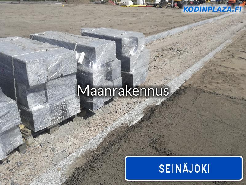 Maanrakennus Seinäjoki