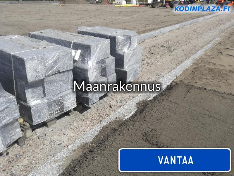Maanrakennus Vantaa