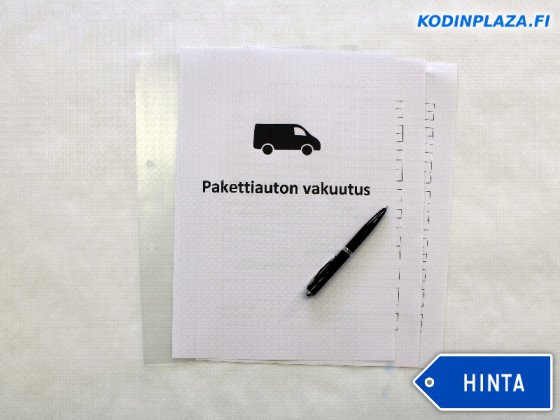Pakettiauton Vakuutus