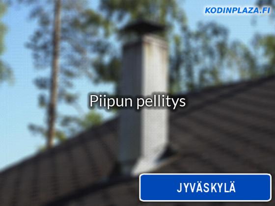 Piipun pellitys Jyväskylä