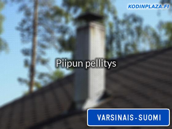 Piipun pellitys Varsinais-Suomi